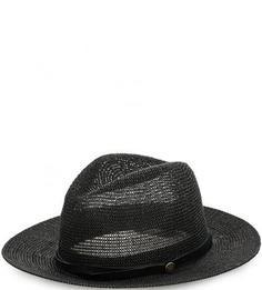 Черная плетеная шляпа Goorin Bros.