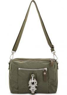 Маленькая текстильная сумка через плечо George Gina & Lucy