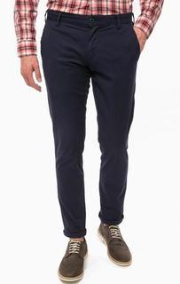 Темно-синие хлопковые брюки Pepe Jeans