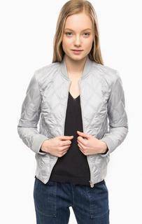 Светло-серая легкая куртка S.Oliver