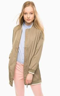 Легкая куртка цвета хаки S.Oliver