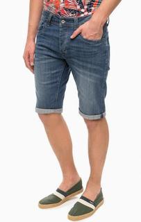 Джинсовые шорты с застежкой на болты Pepe Jeans