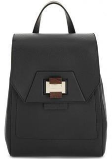Черный рюкзак из натуральной кожи Gironacci