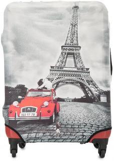 Чехол на чемодан серого цвета Gianni Conti