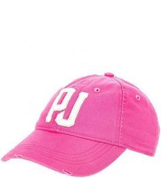Розовая бейсболка из хлопка Pepe Jeans
