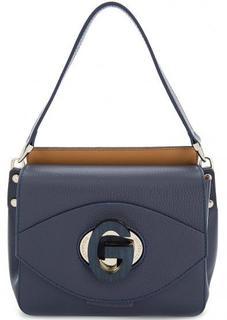 Кожаная сумка с короткой ручкой Gironacci