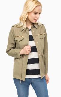 Легкая куртка цвета хаки Kocca