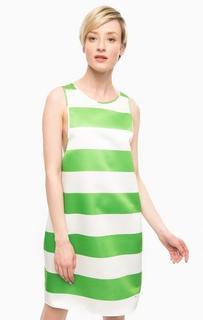 Платье в полоску свободного кроя Pois