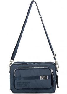 Текстильная поясная сумка с дополнительным плечевым ремнем George Gina & Lucy