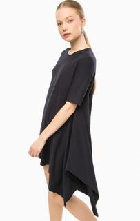 Короткое платье асимметричного кроя Think Chic