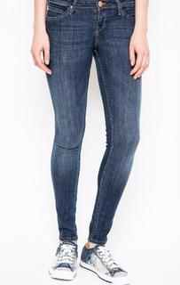Синие джинсы скинни Lee