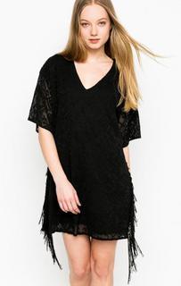 Короткое черное платье Relish