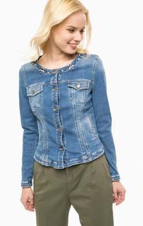 Синяя джинсовая куртка Kocca