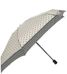 """Серый зонт с системой """"двойной антиветер"""" Doppler"""