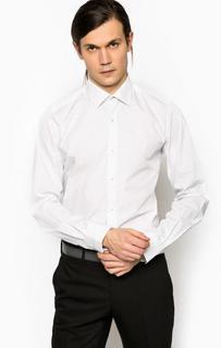 Приталенная рубашка с длинными рукавами Pierre Cardin