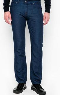 Синие зауженные брюки Lagerfeld