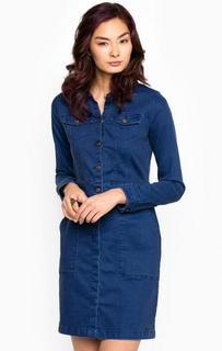 Приталенное джинсовое платье Tom Tailor Denim