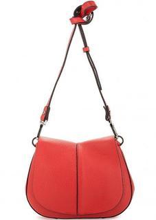 Красная сумка из натуральной кожи Gianni Chiarini