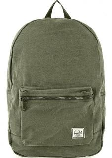 Рюкзак из хлопка цвета хаки Herschel