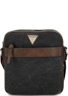 Маленькая текстильная сумка через плечо Guess