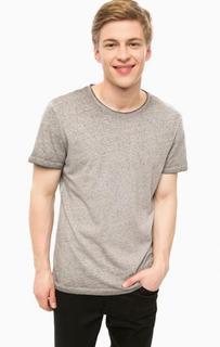 Серая футболка с круглым вырезом Blend