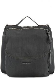 Сумка-рюкзак серого цвета из текстиля George Gina & Lucy