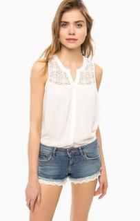 Блуза без рукавов с кружевными вставками Superdry