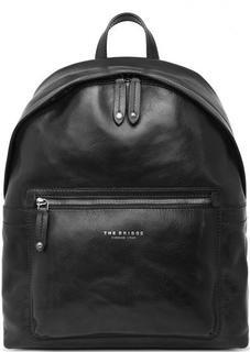 Черный рюкзак из натуральной кожи THE Bridge