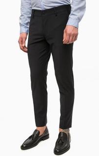 Темно-синие брюки на молнии Drykorn