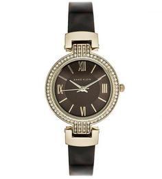 Часы с браслетом из пластика и металла Anne Klein