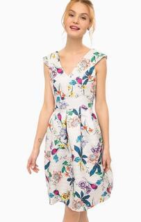 Приталенное платье с цветочным принтом Darling