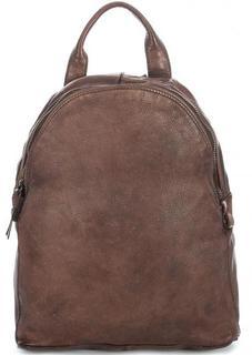 Кожаный рюкзак с тонкими лямками Gianni Conti