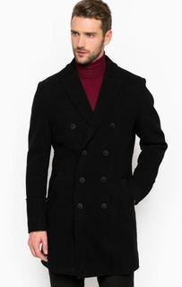 Шерстяное пальто на пуговицах Drykorn