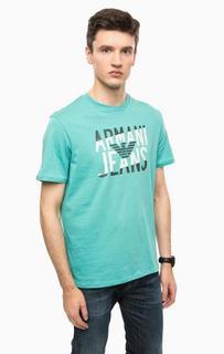 Футболка с логотипом бренда Armani Jeans