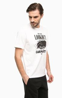 Белая футболка с круглым вырезом Carhartt WIP