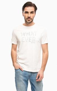 Хлопковая футболка с круглым вырезом Marc Opolo