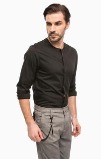Черная рубашка с длинными рукавами Antony Morato