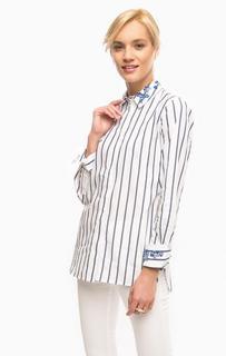 Белая рубашка в полоску Pennyblack