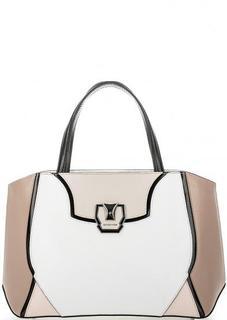 Кожаная сумка со съемным плечевым ремнем Cromia