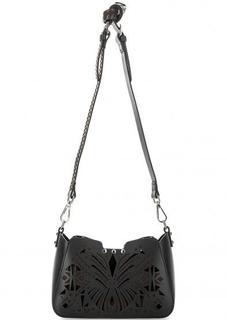 Кожаная сумка с металлической отделкой Cromia