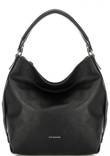 Вместительная кожаная сумка с одним отделом Cromia