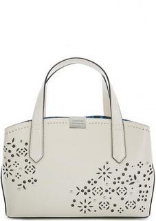 Кожаная сумка с одним отделом Cromia
