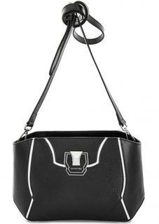 Кожаная сумка через плечо на молнии Cromia