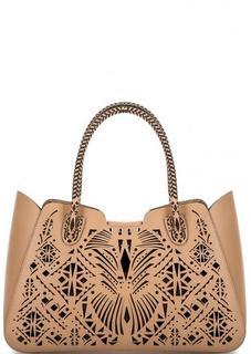 Кожаная сумка со съемным отделением Cromia
