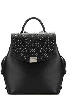 Кожаный рюкзак с одним отделом Cromia