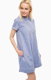 Короткое платье из денима Paul & Joe Sister