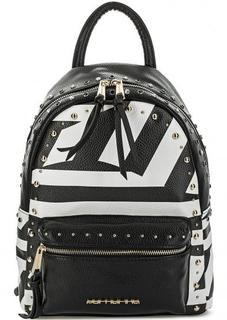 Рюкзак в полоску с металлическим декором Fornarina