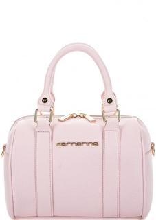 Маленькая розовая сумка через плечо Fornarina