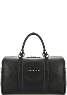 Черная сумка с короткими ручками Fornarina