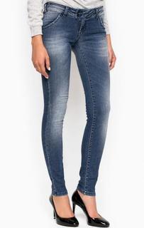 Зауженные джинсы с высокой посадкой MET